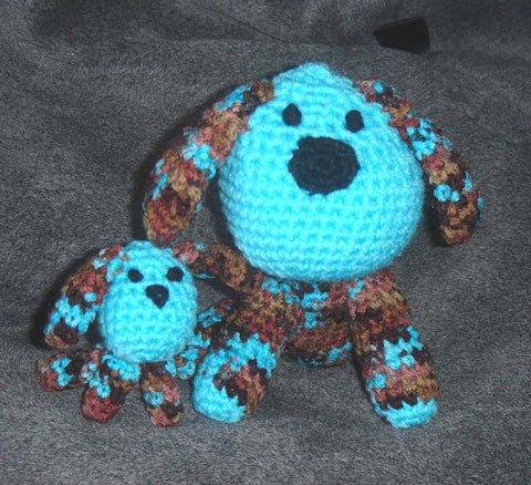 Amigurumi Mummy Dog & Puppy Pattern