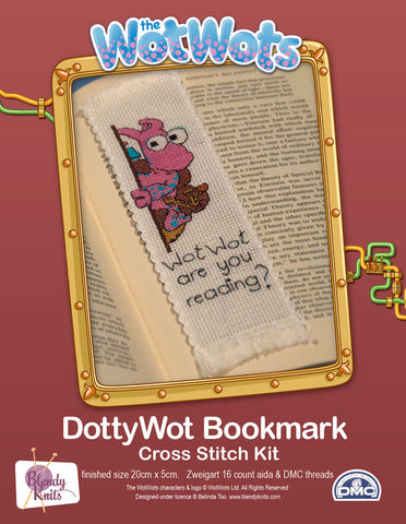 Dotty Wot Bookmark Cross Stitch Kit