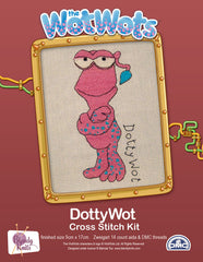 Dotty Wot Cross Stitch Kit  .