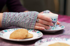 Fern Lace Fingerless Gloves Pattern Download