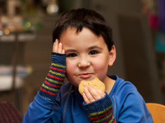 Easy Kids' Gloves Pattern Download