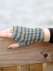 Classic Cable Fingerless Gloves Pattern Download