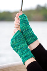 Little Umbrella Fingerless Gloves Pattern Download