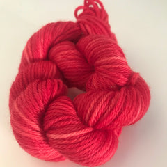 Red Sock Yarn Mini Skein approx 25g