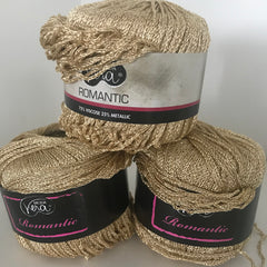 Romantic Gold metallic yarn
