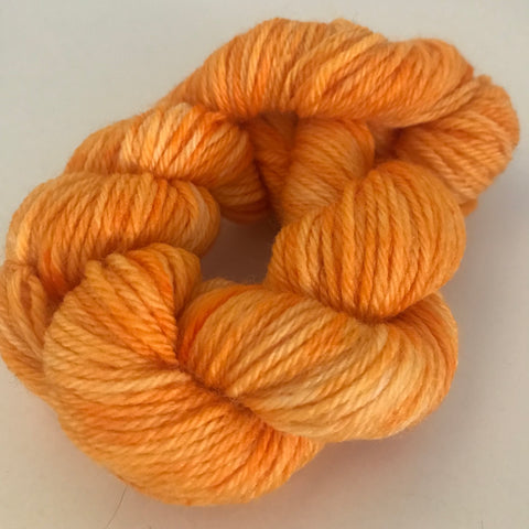 Yellow Sock Yarn Mini Skein approx 20g