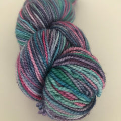 Sock Yarn Paua (green/pink)