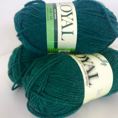 Loyal Dark Green 8ply 912