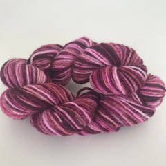Dark Pink Sock Yarn Mini Skein approx 25g