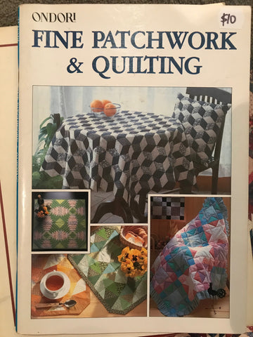 Fine Patchwork & Quilting by Ondori