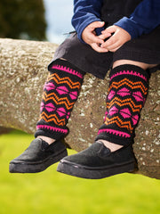 Colour Shock Legwarmers Pattern Download