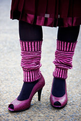 Super Stripy Legwarmers pattern download