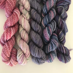 Teeny Tiny Sock Yarn Pack (pink/purple)