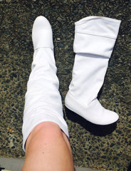 White Boots size 7.5