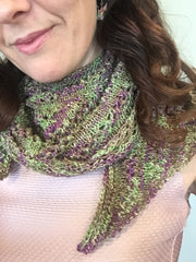 Scalene Single Skein Scarf pattern download