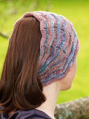 Chevron Head or Neck Scarf Pattern Download