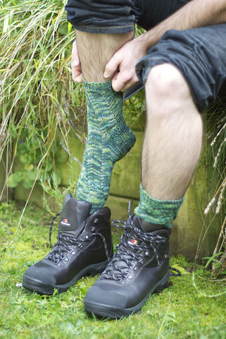 Walk in the Bush Socks Pattern Download