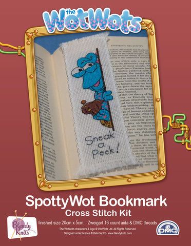 Spotty Wot Bookmark Cross Stitch Kit
