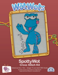 Spotty Wot Cross Stitch Kit