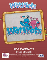 WotWots Logo Cross Stitch Kit