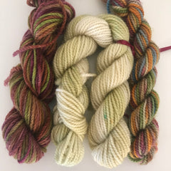 Teeny Tiny Sock Yarn Pack (light green)