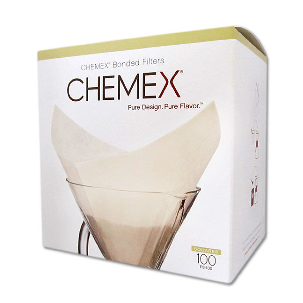Chemex Pre-fold Squared Paper Filters