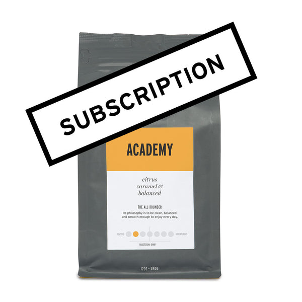 Academy – Coffee Subscription
