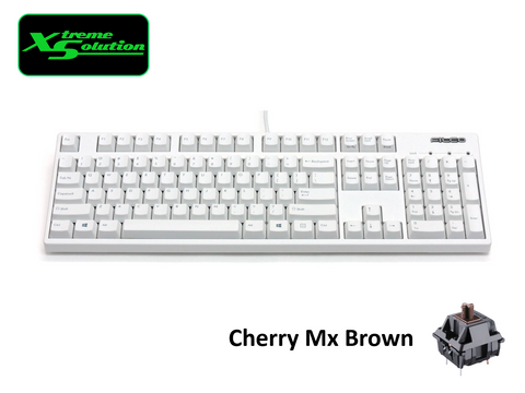 Filco Majestouch 2 HAKUA White Limited Edition Mechanical Keyboard (Full Sized)