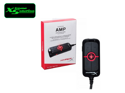 Kingston HyperX Amp USB Sound Card - Virtual 7.1 Surround Sound