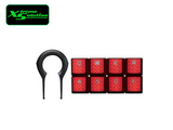 Kingston HyperX FPS & MOBA Gaming Keycaps Upgrade Kit - Red or Titanium