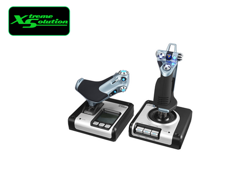 Logitech X52 H.O.T.A.S - THROTTLE AND STICK SIMULATION CONTROLLER