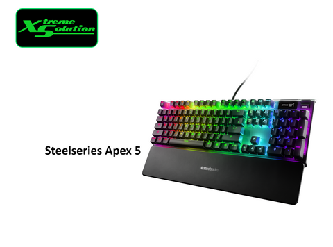 Steelseries Apex 5 Mechanical Gaming Keyboard