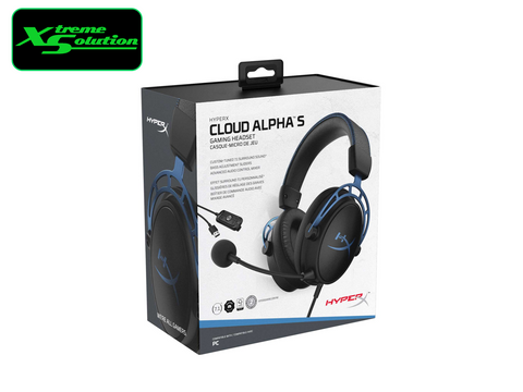 Kingston Hyper X Cloud Alpha S 7.1 USB Gaming Headset
