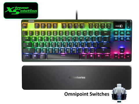 Steelseries Apex Pro TKL OmniPoint Mechanical Keyboard