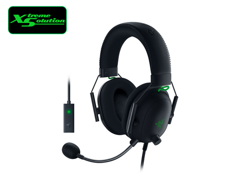 Razer BlackShark V2 X + USB Sound Card