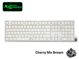 Varmilo VA108M Double Rainbow White LED Mechanical Keyboard