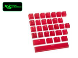 Ducky 31 Rubber Keycap set (Red, Green, Blue)