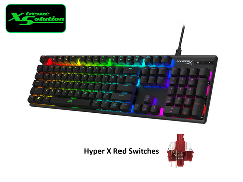 HyperX Kingston Alloy Origin RGB Mechanical Gaming Keyboard