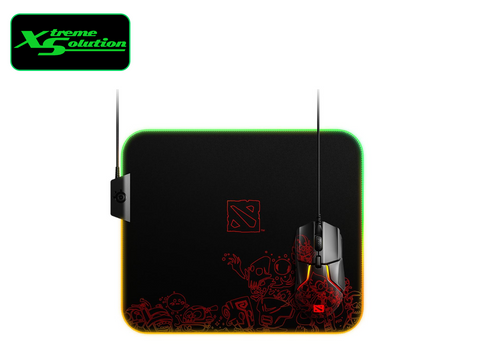 Steelseries Qck Prism Cloth Mousepad (Ti9 Dota 2 Edition)