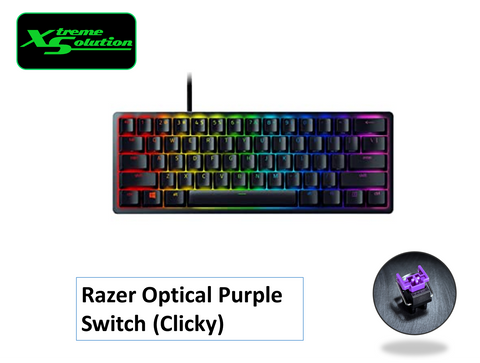 Razer Huntsman Mini (Black) - Optical Purple Switch