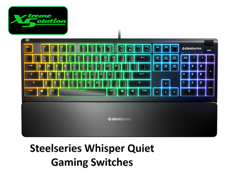 Steelseries Apex 3 (Water-Resistant Gaming Keyboard)