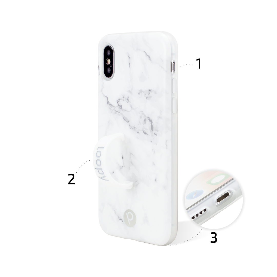 Loopy Cases iPhone X/Xs model back view