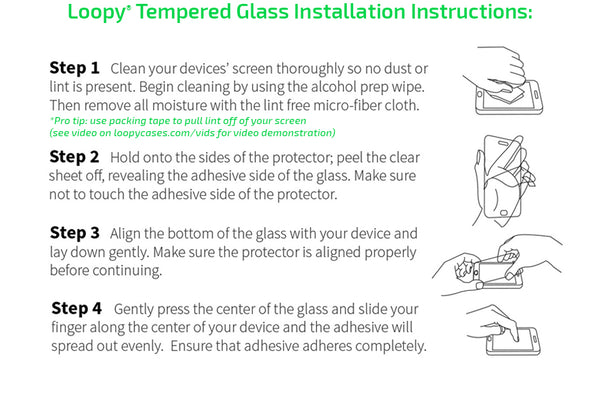 How to install tempered glass