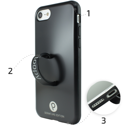 Loopy Cases iPhone 6/s model back view