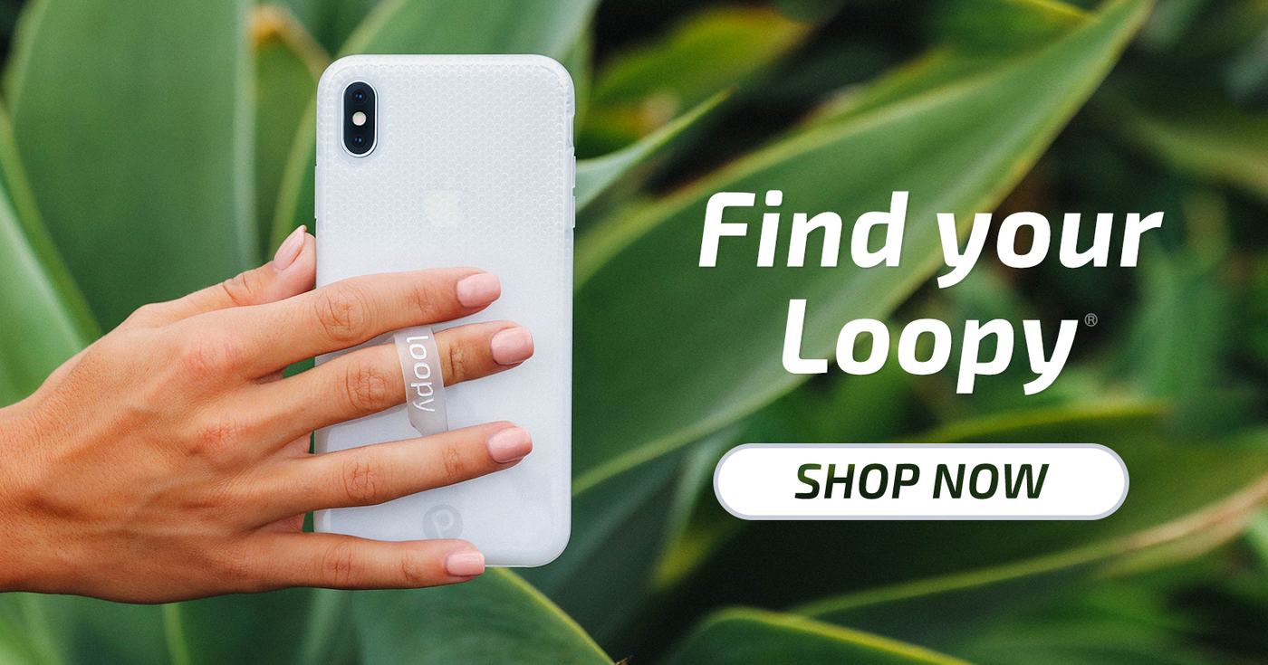 LoopyCases® | The Original Finger Loop Case to StoptheDrop®