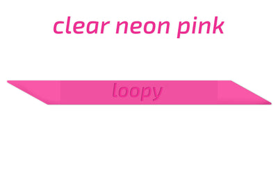 Clear Neon Super Loops