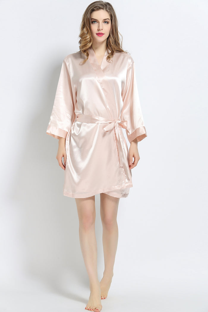 Blush Signature Satin Robe