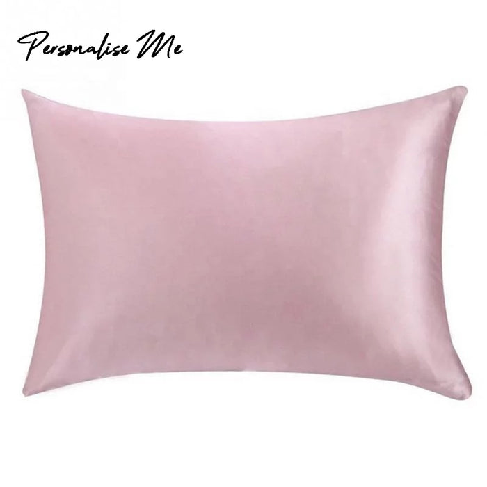 22 momme Pure Silk Pillowcase in Pink