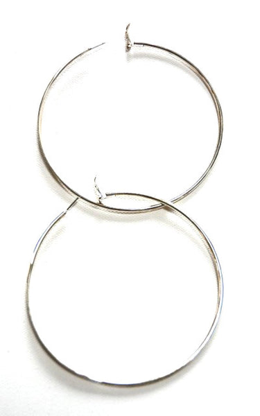 "Women's Large 3"" Hoop Earrings"