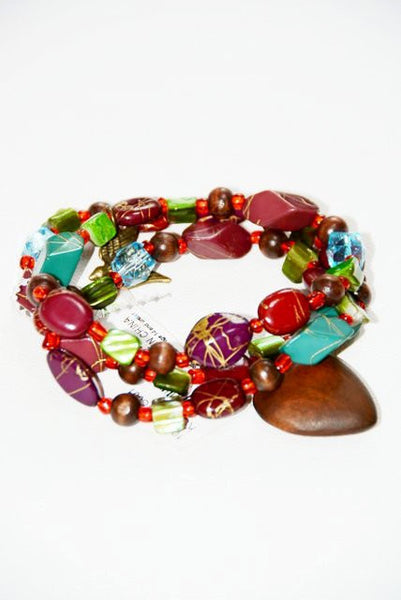 Colorful Bead Necklace or Bracelet